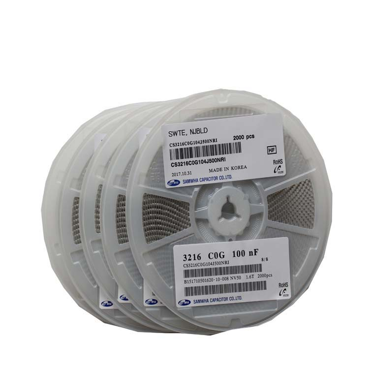 贴片电容 CS2012X5R106K160NRE 三和电容
